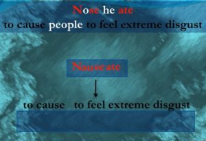 Nauseate meaning