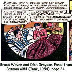 Batman & Robin Comic Strip