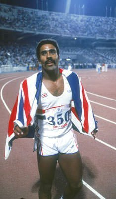 Decathlete Daley Thompson