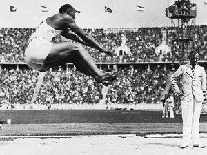 Jesse Owens Long Jump 1936 Berlin Olympics