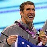 Michael Phelps at 2012 London Olympics
