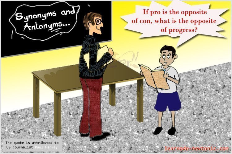 """""""If pro is the opposite..."""""""