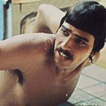 Mark Spitz at the 1972 Munich Olympics