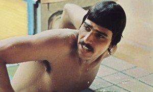 Mark Spitz at the 1972 Munich Olympics