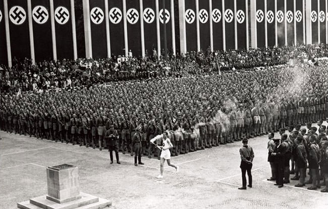Olympic Torch 1936 Berlin Olympics