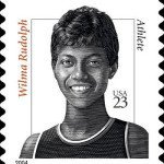 23 Cent Wilma Rudolph Stamp