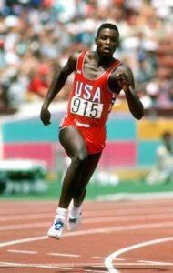 Carl Lewis Running