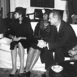 President JFK with Wilma Rudolph