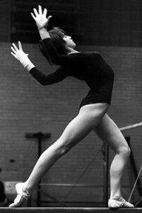 Nadia Comaneci in 1977