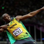 Usain Bolt Lightning Bolt Pose