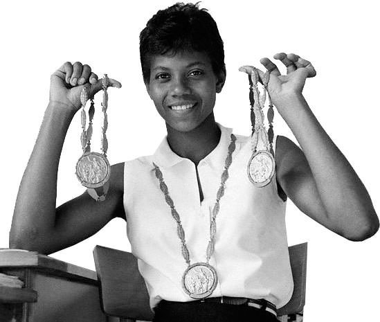 Wilma Rudolph - An uphill battle. Yes you can, with inspiration &  determination.