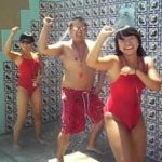 Gangnam style inspires lifeguard style