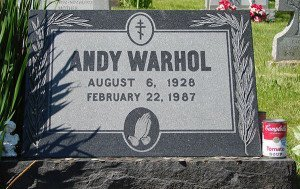 Andy Warhol's Grave