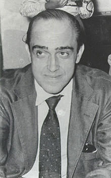 Oscar Niemeyer in the 1950s