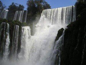 Bosetti waterfall of Iguazu Falls