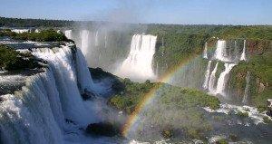 Iguassu Falls Rainbow