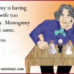 Oscar Wilde on Monogamy
