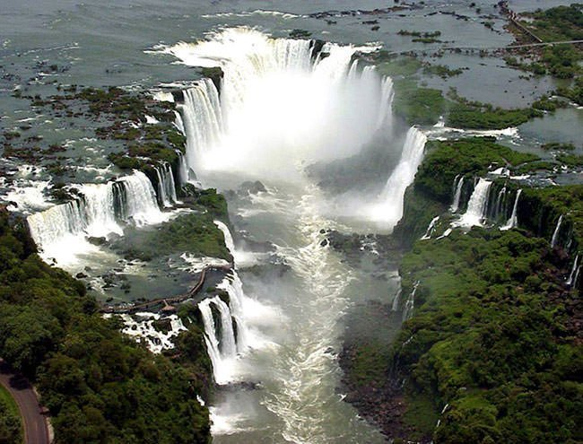 Devil's Throat of Iguazu Falls