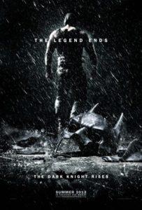 10 best movie posters 2012 - The Dark Night Rises
