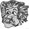 Albert Einstein Cartoon