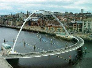 Gateshead Bridge, England