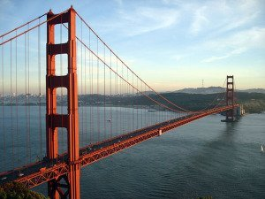 The Golden Gate Bridge in San Francisco, US