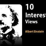 Albert Einstein's views