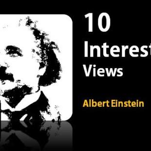 10 Albert Einstein quotes about life