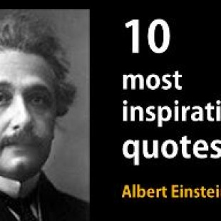 10 inspirational quotes by Einstein