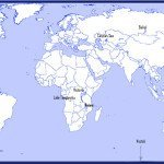 10 biggest lakes World Map