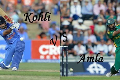 Virat Kohli Vs Hashim Amla: Best Batsman In ODIs Since Tendulkar