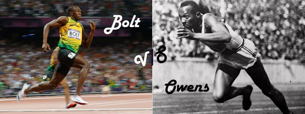 Usain Bolt Vs Jesse Owens Featured