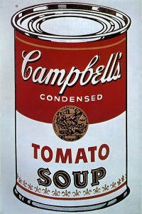 Campbell's Soup Can (1962) (Tomato)