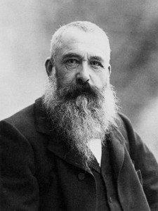Claude Monet in 1899