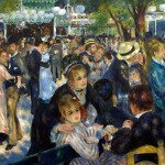 Dance at Le moulin de la Galette (1876)