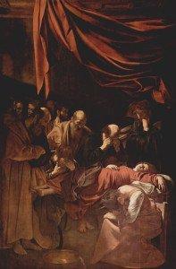 Death of the Virgin - Caravaggio