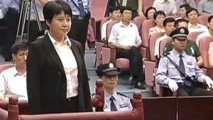 Gu Kalai in court