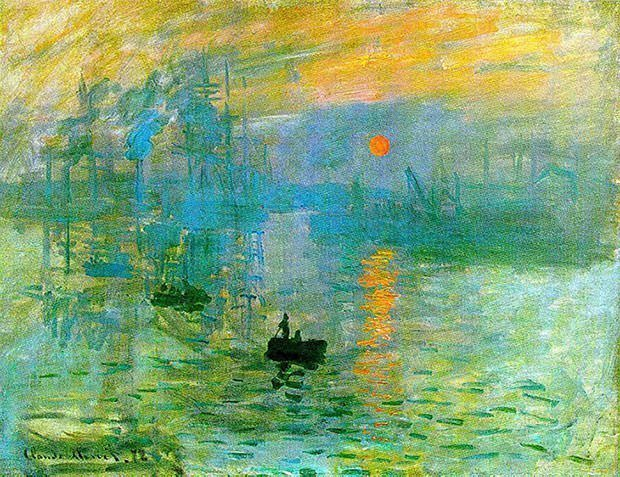 10 Most Famous Impressionist Paintings : Learnodo Newtonic