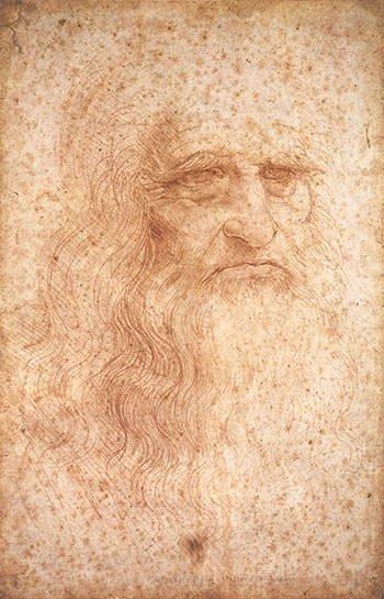 Self Potrait - Leonardo da Vinci