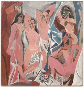 Les Demoiselles d'Avignon (1907) - Pablo Picasso