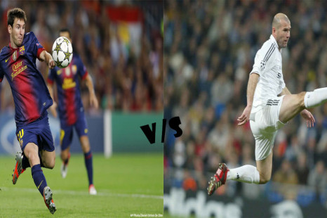 Lionel Messi Vs Zinedine Zidane: The Greatest Player Since Maradona?