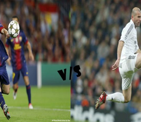 Lionel Messi vs Zinedine Zidane