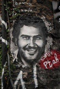 Pablo Escobar Graffitti
