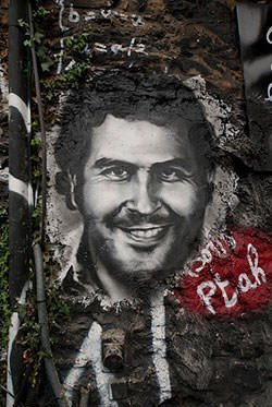 Pablo Escobar Graffitti
