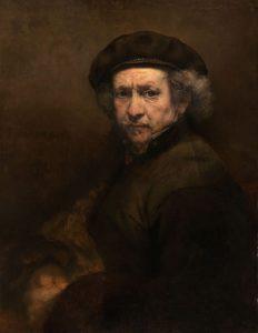 Rembrandt van Rijn - Self-Portrait