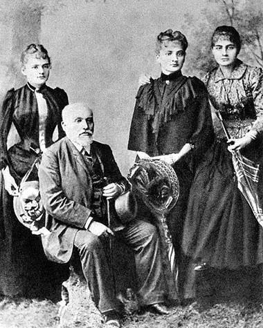 Семья Марии Кюри