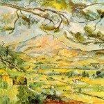 St.Victorie - Paul Cezanne