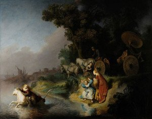 The Abduction of Europa - Rembrandt