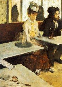 The Absinthe Drinker (1876)