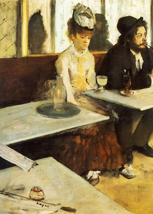 The Absinthe Drinker (1876)